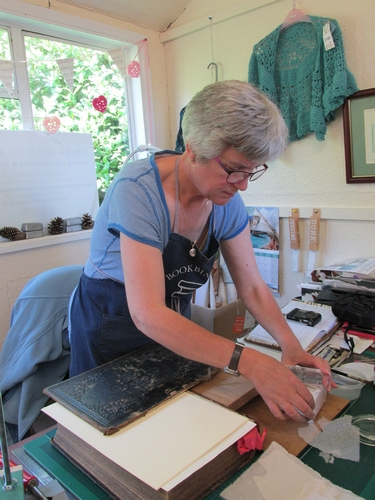 Helen Golding Miller bookbinder and conservator